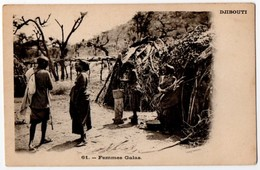 Djibouti - Femmes Galas. Undivided Back, Early 1900's - Djibouti