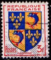 France Poste Obl Yv: 954 Mi 976 Yv:0,5 Euro Dauphiné Armoiries (Belle Obl.mécanique) - Francia