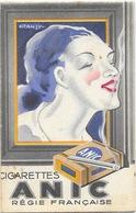 Publicité: Cigarettes Anic Et Celtique - Carnet De Notes, Cigares Voltigeurs, Allumettes Casque D'Or - Objets Publicitaires