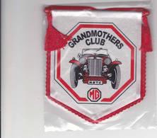 Fanion Grandmothers Club MG Oldtimer - Ecussons Tissu