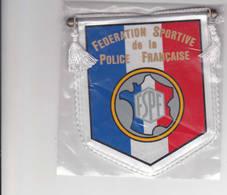 Fanion Fédération Sportive Police Française - Ecussons Tissu