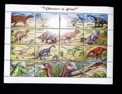 Tanzania  1992  Dinosaurs  SCOTT No. 902 - Tanzania (1964-...)