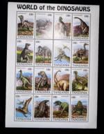 Tanzania  1994  Dinosaurs  SCOTT No. 1251 - Tanzania (1964-...)