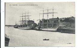 Nantes La Loire Et Le Port à St Anne - Nantes