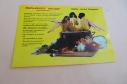 BELLE CARTE HUMORISTIQUE ...FEMMES NUES ..BOUILLABAISSE GAULOISE - Humour