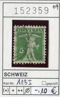Schweiz - Suisse - Switzerland - Svizzera - Michel 113 I - Oo Oblit. Used Gebruikt - Suiza