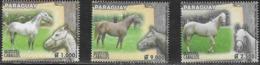 PARAGUAY, 2019, MNH, HORSES,4v - Cavalli