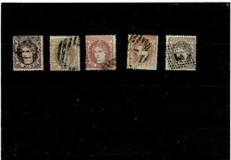 Spagna ,5 Pezzi Usati ,ottima Qualita - 1875-1882 Königreich: Alphonse XII.