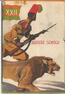 XXII BTG ERITREA VIAGGIATA 1937   (196) - Militari