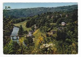 19 Aux Environs D'Allassac Vers Brive N°201 La Vallée De La Vézère En 1966 Beau Pont - Brive La Gaillarde