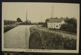 CP. 2995. Obourg. Bassin Du Canal Et Soierie. - Mons