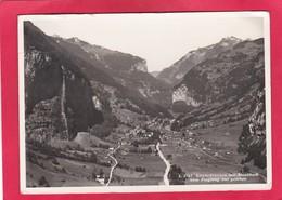 Modern Post Card Of Lauterbrunnen Mit Staubbach,Bern In Switzerland.,A47. - BE Berne