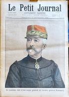 Le Petit Journal Supplément Illustré, Dimanche 18 Septembre 1898 N° 409 - Général Renouard, Reine Wilhelmine De Hollande - Giornali
