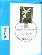 SY0116 LASER 79, Opto-Elektronik, München 6.7.1979 - BRD