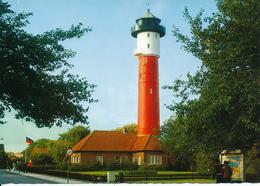 DEUTSCHLAND / Insel WANGEROOGE    -   Lighthouse  ,  Leuchtturm - Faros