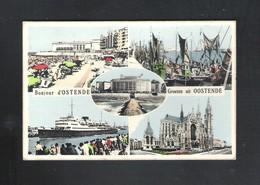 OOSTENDE - GROETEN UIT OOSTENDE - BONJOUR D' OSTENDE  (13.394) - Oostende