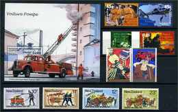 FEUERWEHR Motivmarken Lot Postfrisch (109019) - Feuerwehr