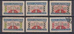 Brazil Brasil REVOLUCAO 1932 6 Cinderellas - Brazilië