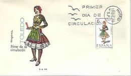 FDC 1970 TOLEDO - FDC