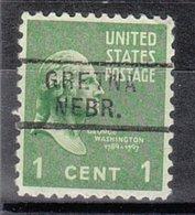 USA Precancel Vorausentwertung Preo, Locals Nebraska, Gretna 729 - Vereinigte Staaten