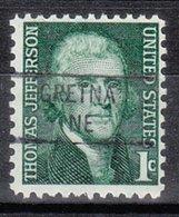 USA Precancel Vorausentwertung Preo, Locals Nebraska, Gretna 841 - Vereinigte Staaten