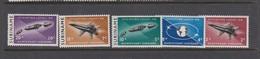 Surinam Sc B99-103 1964 Planes, Mint Hinged - Transport