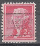 USA Precancel Vorausentwertung Preo, Locals Nebraska, Harrison 703 - Vereinigte Staaten
