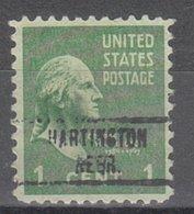 USA Precancel Vorausentwertung Preo, Locals Nebraska, Hartington 734 - Vereinigte Staaten