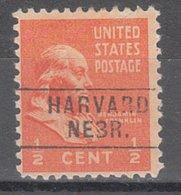 USA Precancel Vorausentwertung Preo, Locals Nebraska, Harvard 745 - Vereinigte Staaten