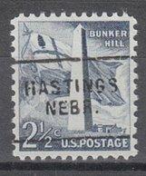 USA Precancel Vorausentwertung Preo, Locals Nebraska, Hastings 703 - Vereinigte Staaten