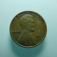 USA 1 Cent 1915 D - Émissions Fédérales