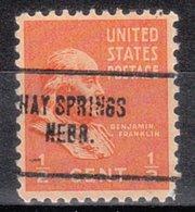 USA Precancel Vorausentwertung Preo, Locals Nebraska, Hay Springs 704 - Vereinigte Staaten