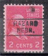 USA Precancel Vorausentwertung Preo, Locals Nebraska, Hazard 745 - Vereinigte Staaten