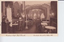 Ak Osnabrück, Neumarkt 4, Cafe Karl Hinrichs, Selten - Osnabrueck