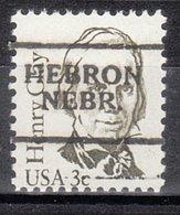 USA Precancel Vorausentwertung Preo, Locals Nebraska, Hebron 701 - Vereinigte Staaten