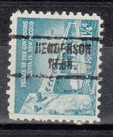 USA Precancel Vorausentwertung Preo, Locals Nebraska, Henderson 734, Perf. Not Perfect - Vereinigte Staaten