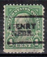 USA Precancel Vorausentwertung Preo, Locals Nebraska, Henry 632-701, Stamp Thin - Vereinigte Staaten