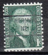 USA Precancel Vorausentwertung Preo, Locals Nebraska, Herman 841 - Vereinigte Staaten