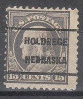 USA Precancel Vorausentwertung Preo, Locals Nebraska, Holbrook 1917-209 - Vereinigte Staaten