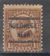 USA Precancel Vorausentwertung Preo, Locals Nebraska, Holbrook 633-209 - Vereinigte Staaten