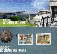 France - Feuillet Bloc Souvenir N° 132 **  Le Chemin Des Dames - Bloques Souvenir