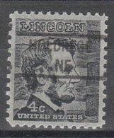 USA Precancel Vorausentwertung Preo, Locals Nebraska, Holbrook 841 - Vereinigte Staaten