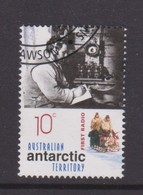 Australian Antarctic Territory ASC 130 2001 Australians In The Antarctic Exploration,First Radio,used - Australian Antarctic Territory (AAT)