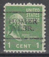 USA Precancel Vorausentwertung Preo, Locals Nebraska, Homer 701 - Vereinigte Staaten