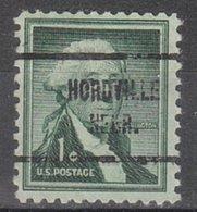 USA Precancel Vorausentwertung Preo, Locals Nebraska, Hordville 713 - Vereinigte Staaten