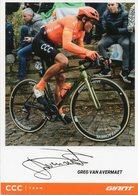 Cyclisme, Greg Van Avermaet, 2020 - Cyclisme