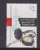 Australian Antarctic Territory ASC 243 2017 Cultural Heritage,$ 1.00 Exploration,Used - Used Stamps