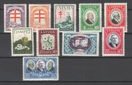 Lettland  Nr 161/70 , Gemischt ,  Postfrisch Oder Mit Falzrest - Lettland