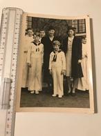 Photographie Ancienne  (1940) Grand Format Famille Royale (José Van Oblerghen Louvain) - Célébrités