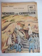 Collection Patrie - Nmr 98 - Mémoires D'un Camoufleur -Edition Rouff - 1914-18